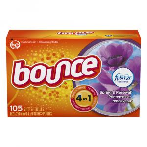 Bounce w/Febreze Spring & Renewal Dryer Sheets