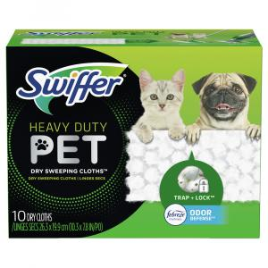 Swiffer Heavy Duty Pet Dry Cloths for Pets