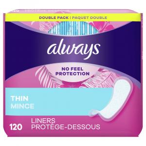 Always Dailies Thin Liners