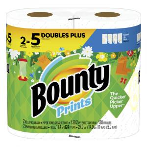 Bounty Select-A-Size Print Huge Roll Paper Towel