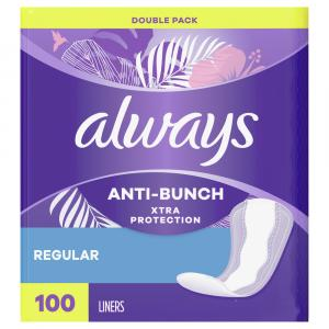 Always Liner Regular Extra Protection Unscented