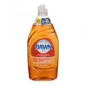 Dawn Ultra Antibacterial Orange Dishwashing Liquid