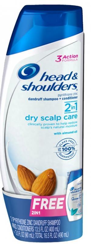 Head And Shoulders 2n1 Dry Scalp Bonus Pack