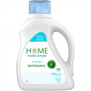 Home Made Simple Unscented Liquid Laundry Detergent