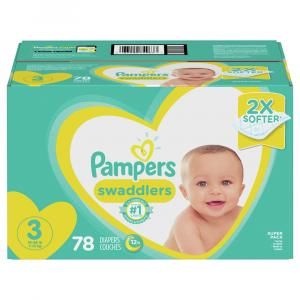 Pampers Size 3 Swaddlers Super Pack