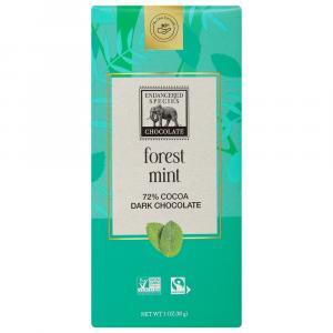 Endangered Species Dark Mint Chocolate Bar