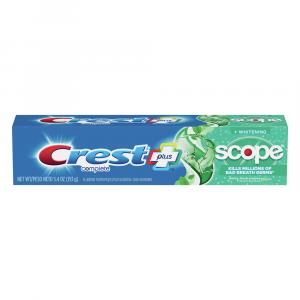 Crest Complete Plus Whitening Scope Minty Fresh Toothpaste
