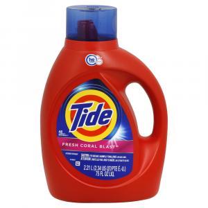 Tide Liquid Fresh Coral Laundry Detergent