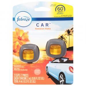 Febreze Hawaiian Aloha Car Vent Air Freshener