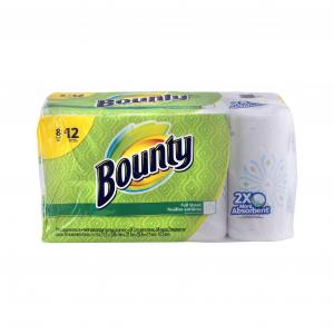 Bounty Prints Giant Roll Paper Towels