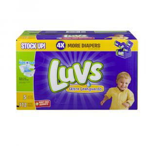 Luvs Ultra Leakguard Size 5 Value Pack