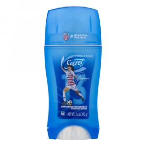 Secret Active Fresh Invisible Solid Antiperspirant/Deodorant