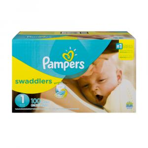 Pampers Size 1 Swaddlers Super Pack