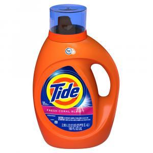 Tide Liquid Fresh Coral Blast 2x He Laundry Detergent
