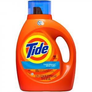 Tide 2x High Efficiency Clean Breeze Liquid Detergent