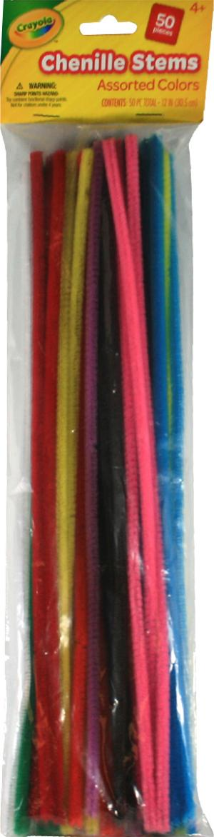 Crayola Chenille Stems Assorted Colors