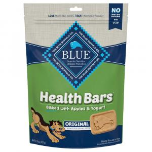 Blue Buffalo Health Bars Baked with Apples & Yogurt