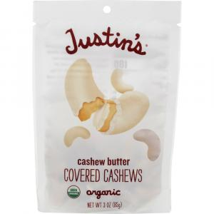 Justin's Organic Cashew Butter Covered Cashews