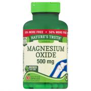 Nature's Truth Magnesium Oxide 500mg