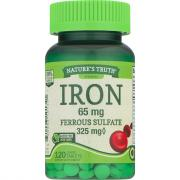 Nature's Truth Iron 65mg Ferrous Sulfate 325mg