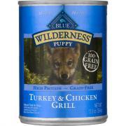 Blue Buffalo Wilderness Puppy Turkey & Chicken Grill
