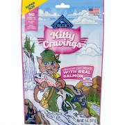 Blue Buffalo Kitty Cravings Crunchy Cat Treats with Salmon