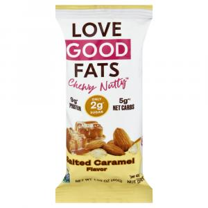 Love Good Fats Chewy-Nutty Bar Salted Caramel