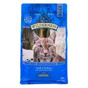 Blue Buffalo Wilderness Adult Indoor Cat Food with Chicken