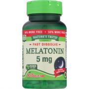 Nature's Truth Melatonin 5mg Bonus Fast Dissolve Tabs
