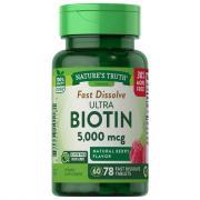 Nature's Truth Ultra Biotin 5000 mcg Fast Dissolve Tablets