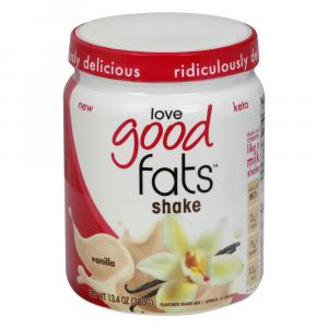 Love Good Fats Vanilla Shake Mix