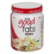 Love Good Fats Vanilla Shake Mix