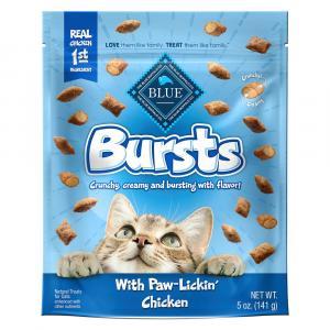 Blue Buffalo Bursts Cat Treats with Paw-Lickin' Chicken