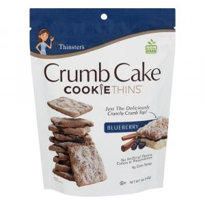 Mrs. Thinster's Blueberry Crumb Cake Cookie Thins