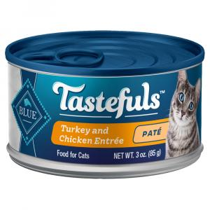 Blue Buffalo Tastefuls Turkey and Chicken Entree For Cats