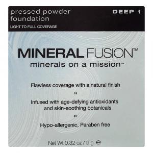 Mineral Fusion Pressed Powder Foundation Deep 1