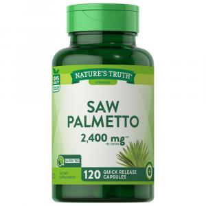 Nature's Truth Saw Palmetto 1200mg