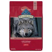Blue Buffalo Wilderness Adult Dog Food with Salmon