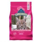 Blue Buffalo Wilderness Adult Cat Food with Salmon