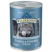 Blue Buffalo Wilderness Turkey & Chicken Grill Dog Food