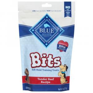 Blue Buffalo Blue Bits Tender Beef Recipe Training Treats