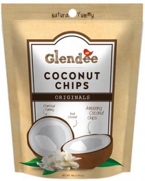 Glendee Coconut Chips Original Flavor