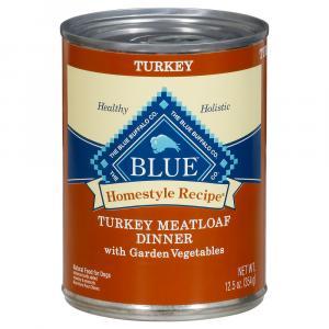 Blue Buffalo Homestyle Recipe Turkey Meatloaf Dinner