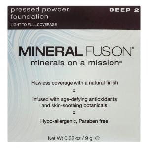 Mineral Fusion Pressed Powder Foundation Deep 2