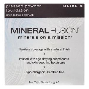 Mineral Fusion Pressed Powder Foundation Olive 4