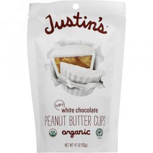 Justin's Organic Mini White Chocolate Peanut Butter Cups