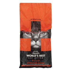World's Best Cat Litter Plus Attraction Action