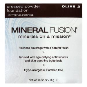 Mineral Fusion Pressed Powder Foundation Olive 2
