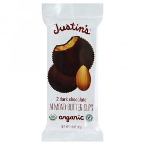 Justin's Organic Dark Chocolate Almond Butter Cups