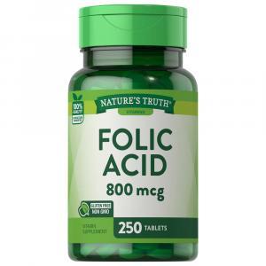 Nature's Truth Folic Acid 800mcg Tabs
